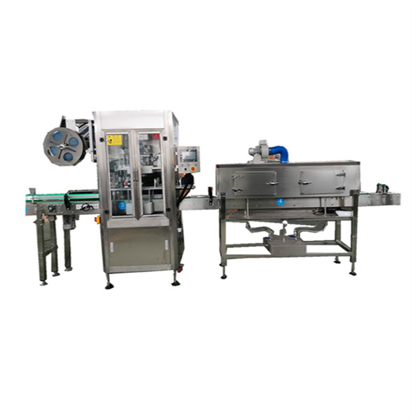 OPS Stainless Shrink Sleeve Applicator Machine สำหรับขวด