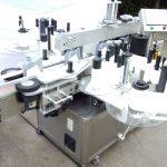 อุปกรณ์ติดฉลากขวดอัตโนมัติขวดแก้วสติกเกอร์สองด้าน
