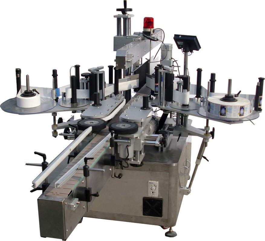 เครื่องติดฉลากอัตโนมัติพื้นผิวเรียบสำหรับโรงงานผลิตถุงความเร็วสูง