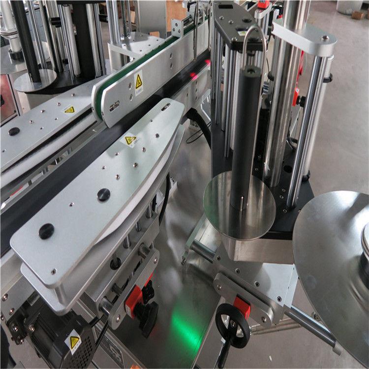 เครื่องติดฉลากสติกเกอร์อัตโนมัติ CE, เครื่องติดฉลากขวดด้านหน้าและด้านหลัง