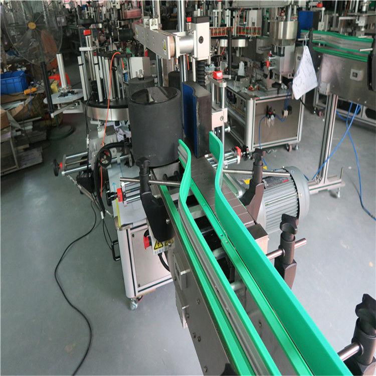 เครื่องติดฉลากสติ๊กเกอร์อัตโนมัติสองด้านเครื่องติดฉลากสองด้าน 6000-8000 B / H