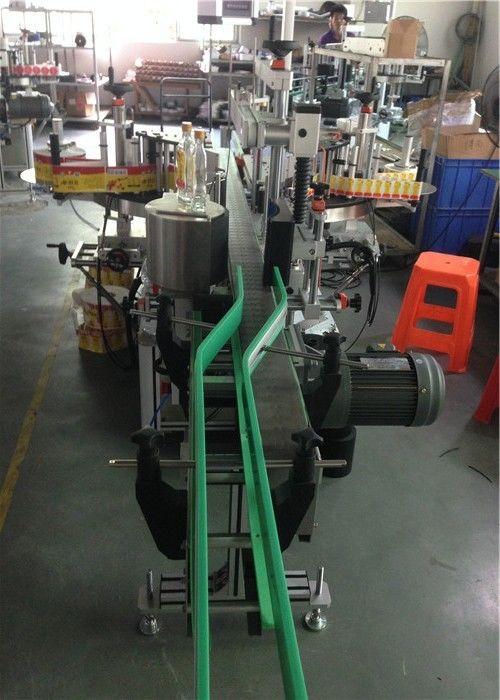 เครื่องติดฉลากสติ๊กเกอร์ CE, เครื่องติดฉลากขวดไวน์ Servo Motors Driving