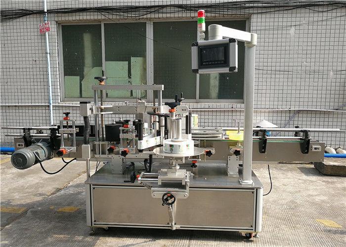 เครื่องติดฉลากสติ๊กเกอร์อัตโนมัติ CE / เครื่องติดฉลากไวต่อแรงกด