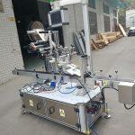 เครื่องติดฉลากสติกเกอร์ด้านบนสำหรับกระเป๋าหัวฉีดชนิดขับเคลื่อนด้วยไฟฟ้า