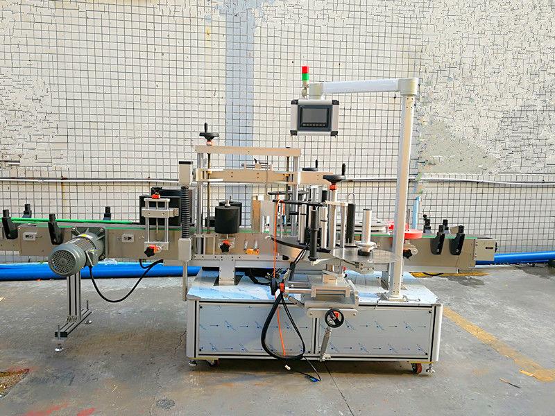 เครื่องติดฉลากอัตโนมัติด้านหน้าและด้านหลังแบบสองด้าน